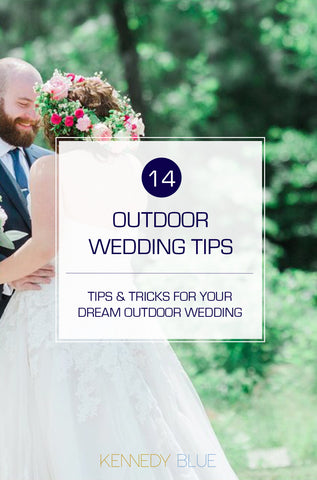 Fun Ideas for Your Dream Outdoor Wedding!