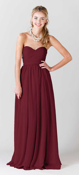 Kennedy Blue Bridesmaid Dress Olivia