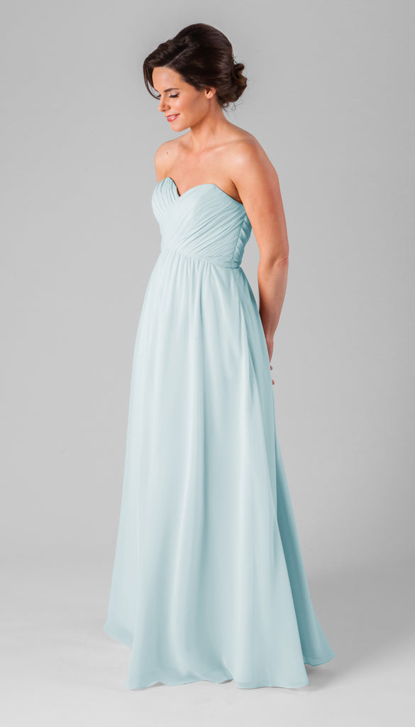 Kennedy Blue Chiffon Parker Bridesmaid Dress in Mint
