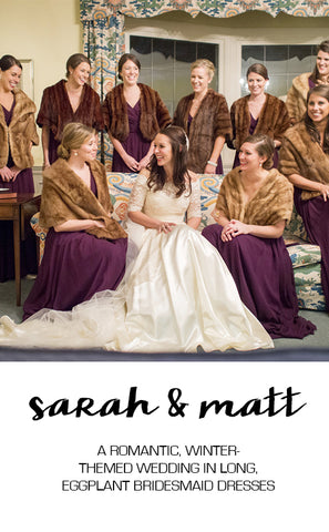 Real Wedding Featuring Sarah and Matt