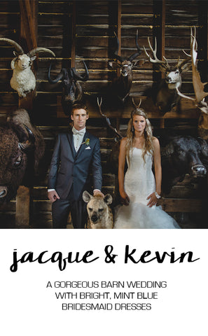 Real Wedding Featuring Jacque and Kevin