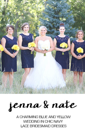 Real Wedding Featuring Jenna and Nate
