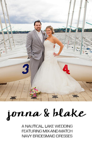 Real Wedding Featuring Jonna and Blake