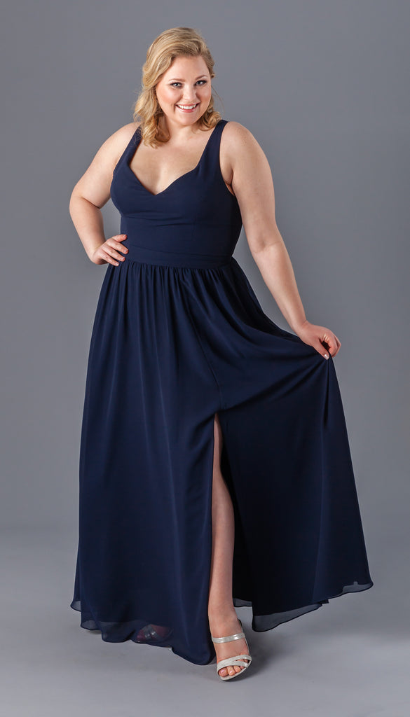 Bridesmaid dress styles for plus size