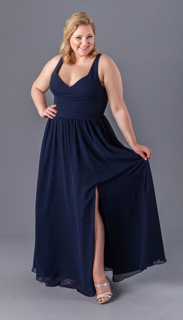 b8b4fec91d7 Incredibly Flattering Plus Size Bridesmaid Dresses – Kennedy Blue