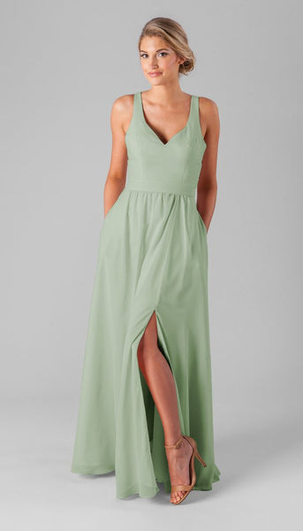 Sage is a gorgeous color for bridesmaid dresses | Your Ultimate Guide to Fall Weddings | Kennedy Blue | Style Riley in sage