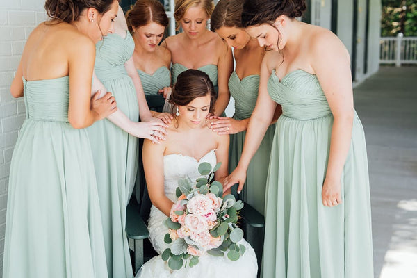 Sage Green Bridesmaid Dress Inspiration