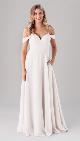 Kennedy Blue Samantha dress | Ivory Bridesmaid Dresses