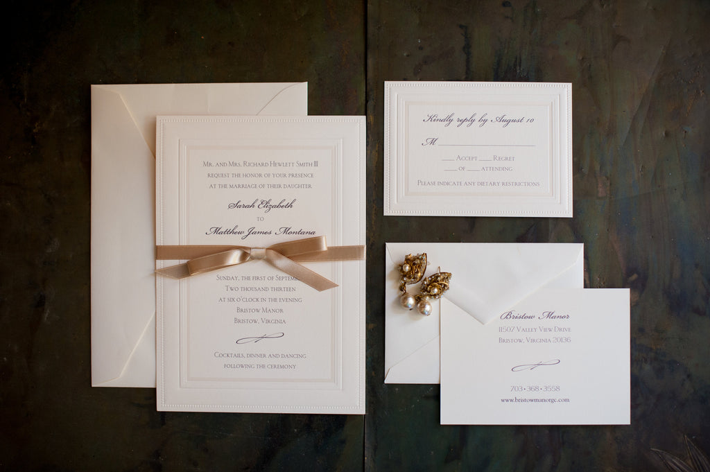 Weeks 12-11: Finalize guests and send invitations | Wedding Countdown: Your 12 Week Checklist