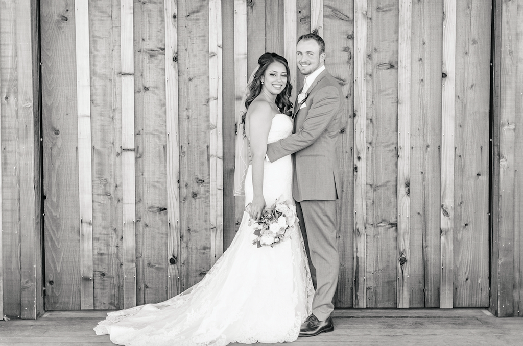 Black and white country wedding! | An Elegant, Blush Pink, Rustic Wedding | Kennedy Blue | Catherine Leanne Photography