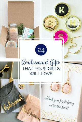 24 Bridesmaid Gifts That Your Girls Will Love | Kennedy Blue