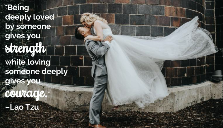 Lao Tsu love quote! | The Ultimate Guide To Writing Your Own Wedding Vows | Kennedy Blue