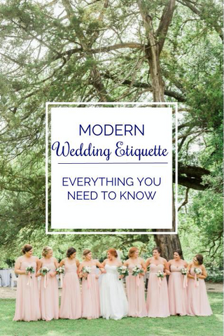 Modern Wedding Etiquette: Everything You Need To Know | Kennedy Blue