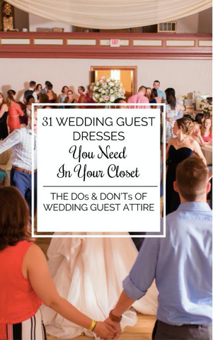 31 Wedding Guest Dresses You Need In Your Closet | Kennedy Blue