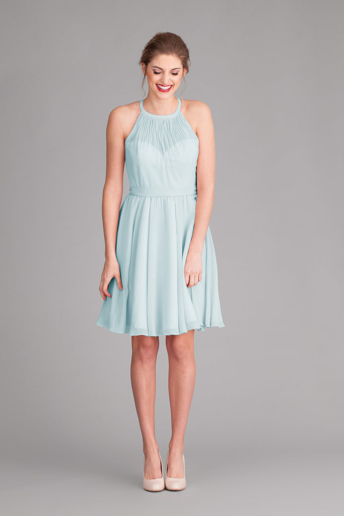 Kennedy Blue Chiffon Sienna Bridesmaid Dress in Mint