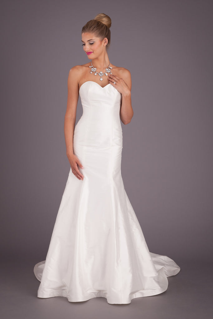 A Simple Elegant Wedding Dress