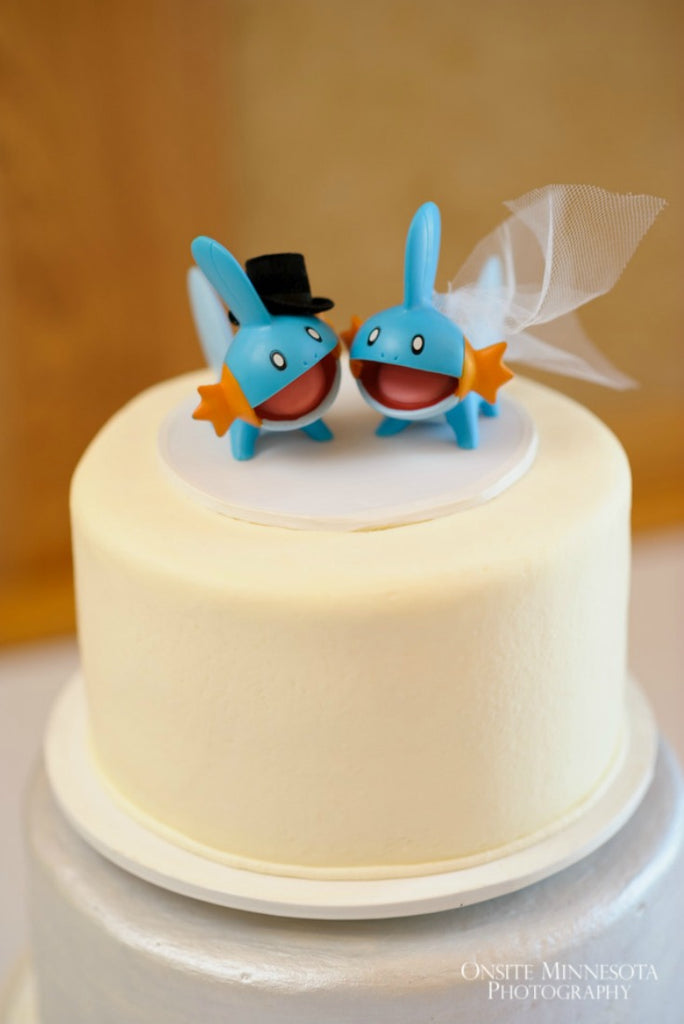 A creative take on cake toppers!