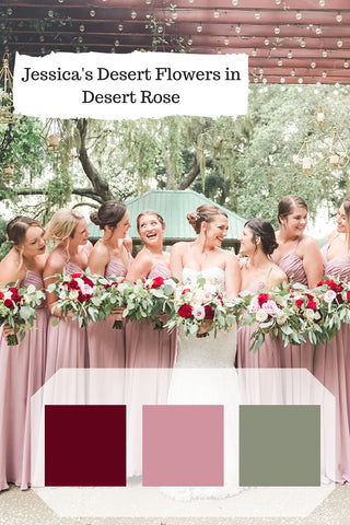 pink bridesmaid dresses for dusty rose wedding