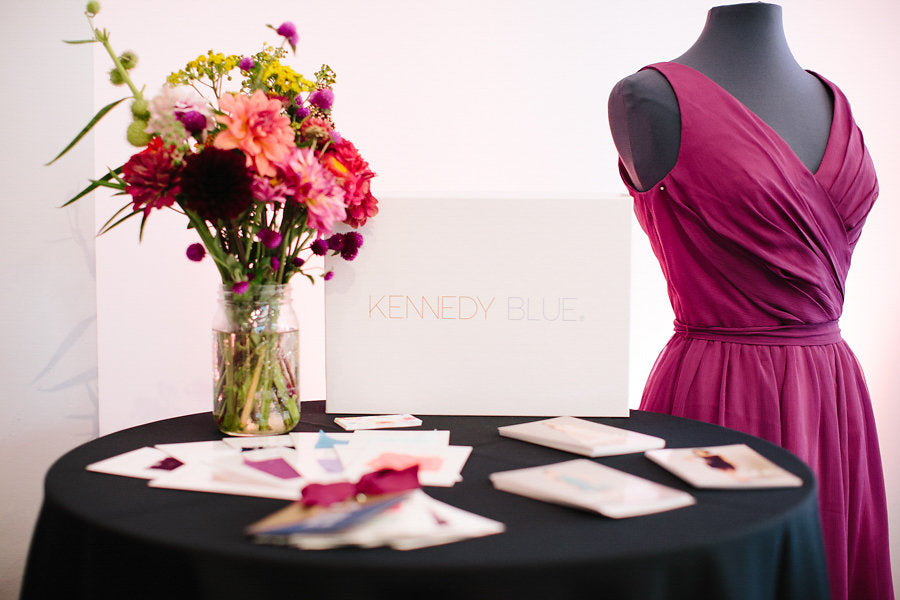 Kennedy Blue's booth | Floral Graffiti Inspiration at The Big Fake Wedding