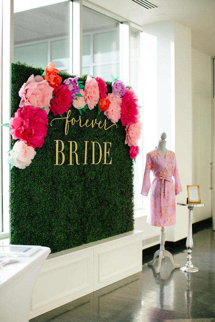 Forever Bride was a media partner for The Big Fake Wedding | Floral Graffiti Inspiration at The Big Fake Wedding