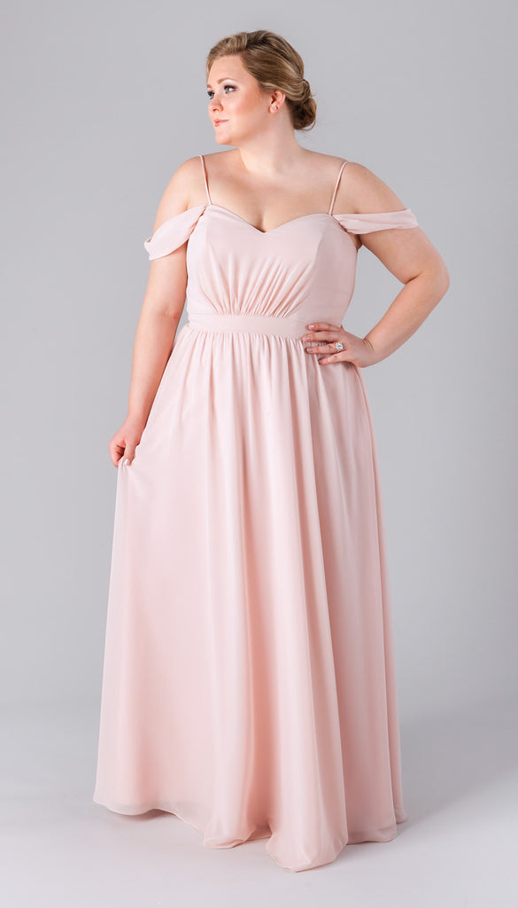 Incredibly flattering plus size bridesmaid dresses for Plus size pink wedding dresses