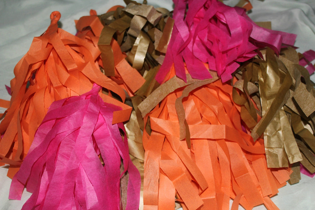 Tassel Paper Garland for Your DIY Wedding
