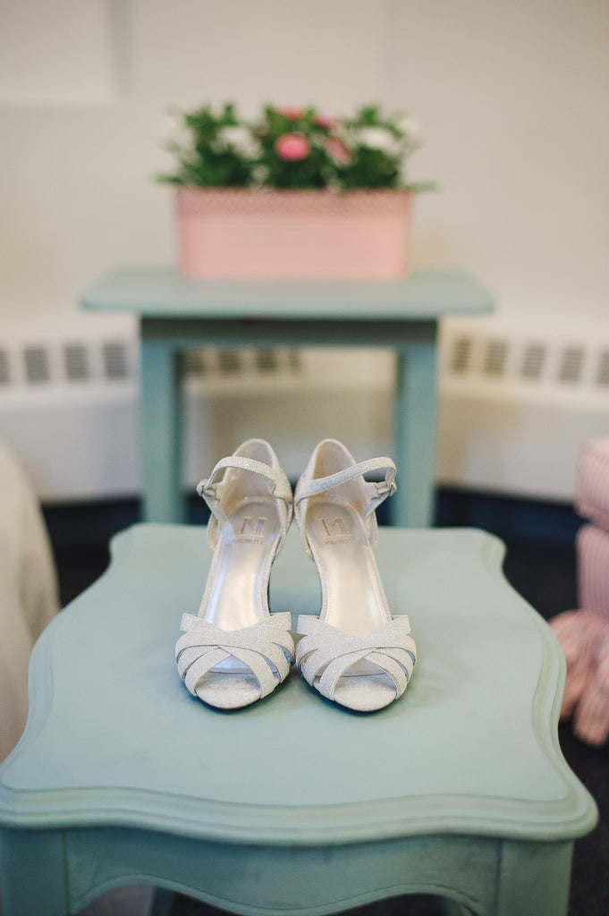 ...because every bride needs a sparkly shoe! | A Traditional Wedding Dress for a Memorable Day | Kennedy Blue