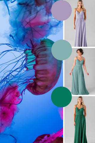 summer 2019 wedding colors