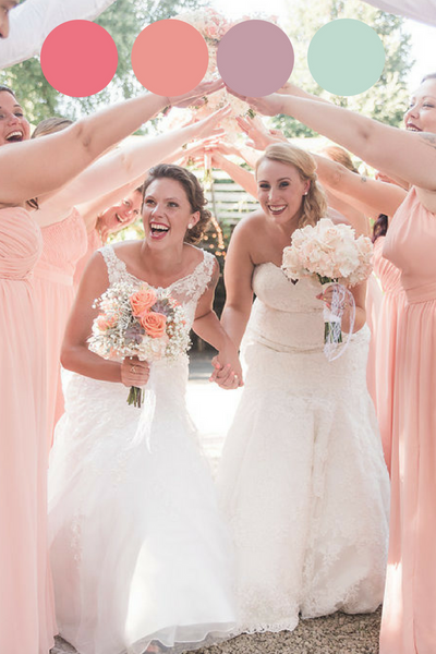 Taren and Sierra's Garden Wedding
