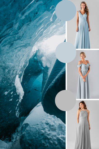 winter 2019 wedding colors