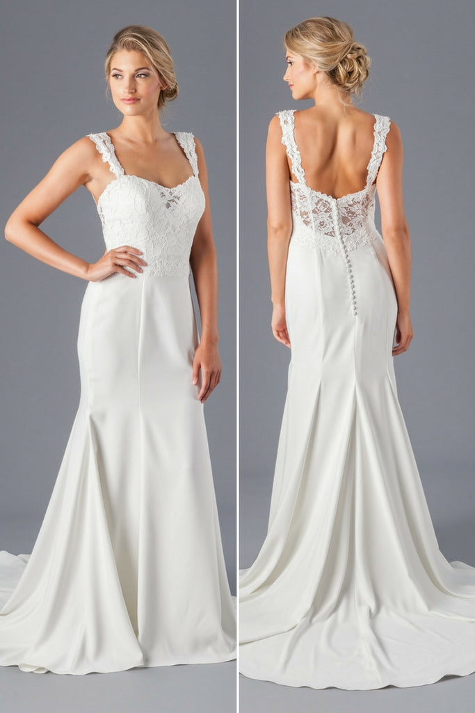 Beautiful KB Bridgette bridal gown! | Show Stopping Lace Bridal Gowns | Kennedy Blue