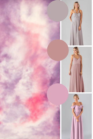 spring 2019 wedding colors