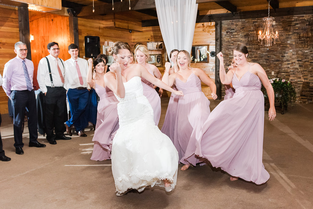 bridesmaids mauve