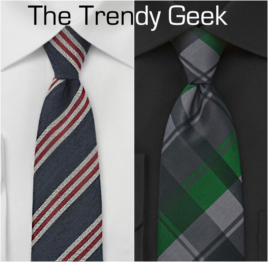 Handsome ties for the trendy geek. | The Perfect Valentine's Gift for Him