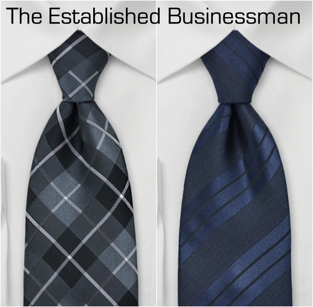 Sophisticated ties for the established businessman. | The Perfect Valentine's Gift for Him