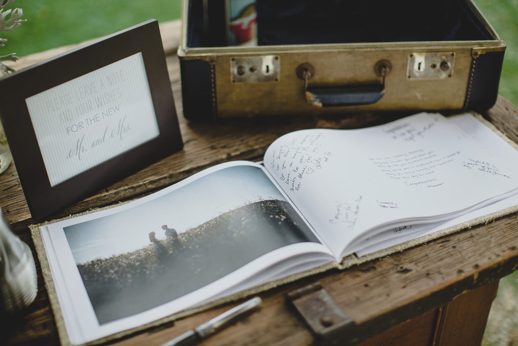A DIY Wedding Book Filled with Well-Wishes | 15 Sentimental Wedding Gifts for the Couple