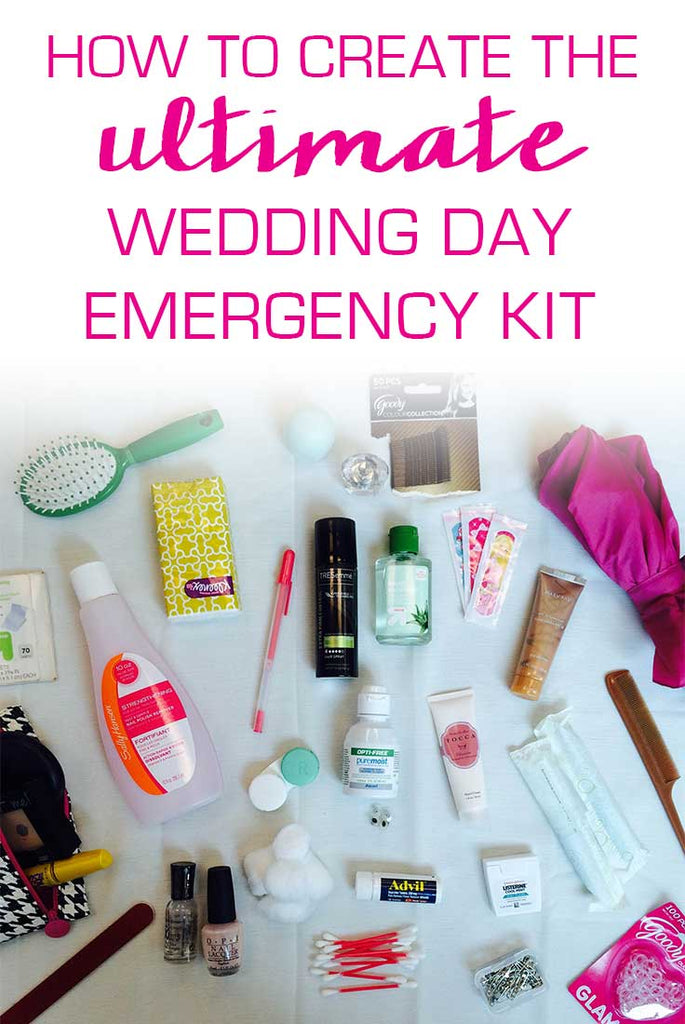 Creating the Ultimate Wedding Emergency Kit