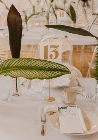 Assigned Wedding Tables