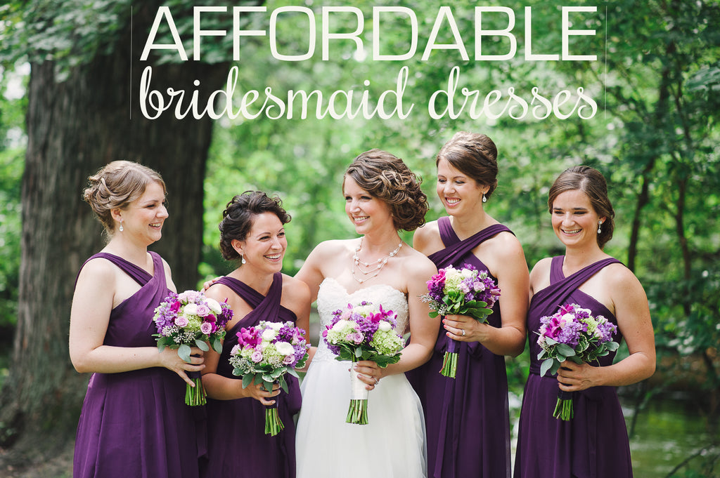 Affordable Bridesmaid Dresses with Kennedy Blue