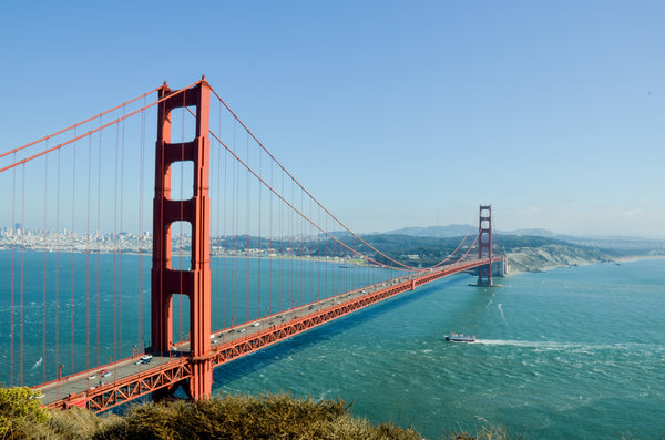 Golden Gate Bridge San Francisco | The Best Destination Wedding Locations