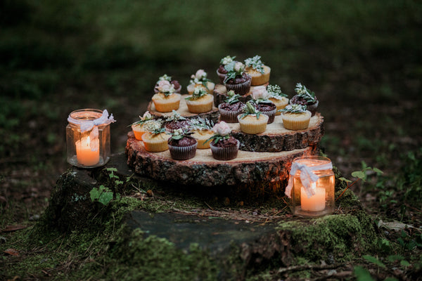 mason jar candles | Best Backyard Wedding Ideas