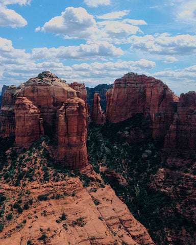 red rocks in Sedona | The Best Destination Wedding Locations