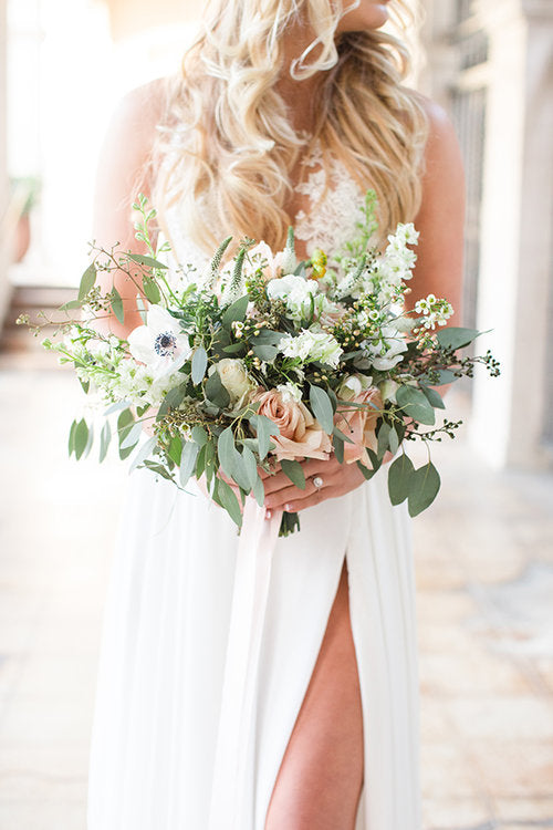 Bride Bouquet | Ebell Los Angeles Styled Shoot | Kennedy Blue featured on Strictly Weddings