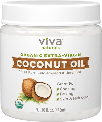 Viva Naturals Organic Coconut Oil | Affordable Beauty Products for Brides-to-Be | Kennedy Blue