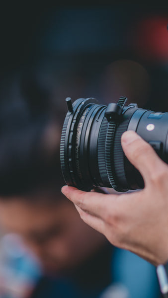 camera lens | Questions to Ask Your Wedding Videographer
