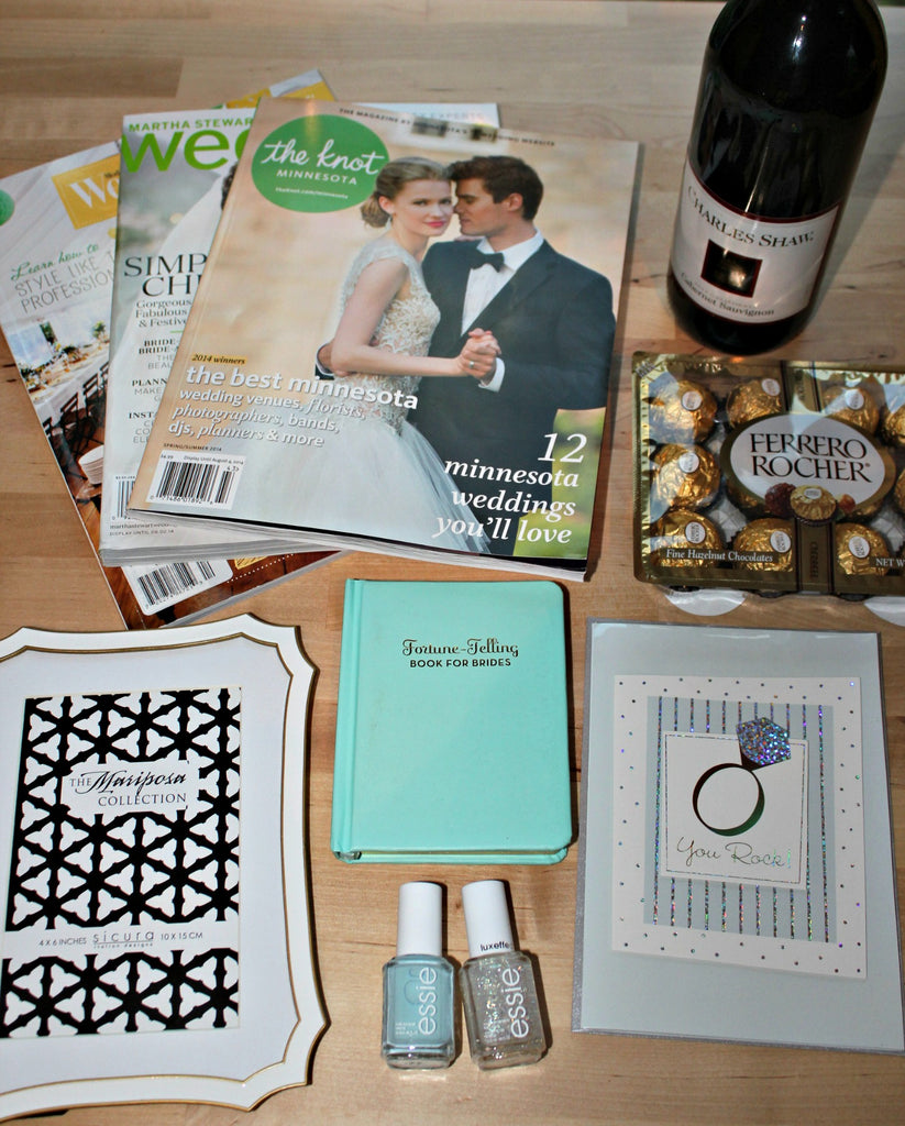 Engagement Gift Ideas: Gift Baskets for the Bride-to-Be