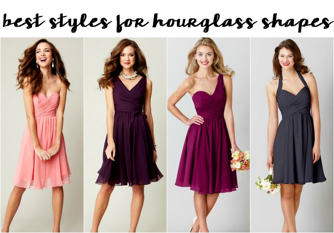 Best Bridesmaid Dress Styles for an Hourglass Shape
