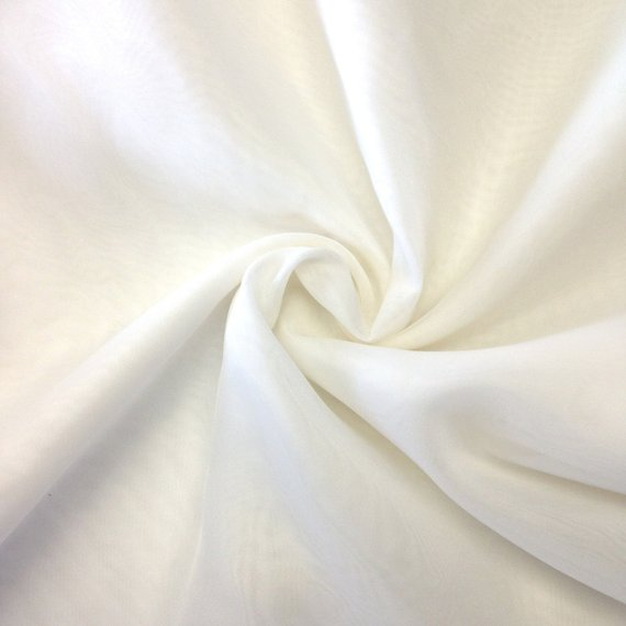 sheer white drapery Kennedy blue budget-friendly wedding decorations