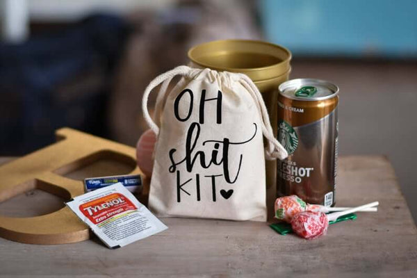 hangover kit | bridesmaid gift ideas Kennedy Blue