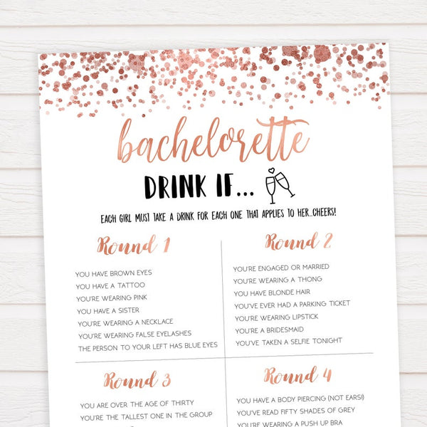 image regarding To Have and to Hold Your Hair Back Free Printable identified as 51 Strategies For An Memorable Bachelorette Get together Kennedy Blue